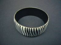 Bangle – Zebra Pattern BANGZEB