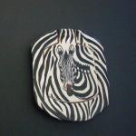 Pocket Mirror – Zebra Design MIRRZ