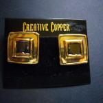 Creative Copper Earrings SAEA3