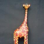 Giraffe 8″ – Jacaranda Wood GIR8