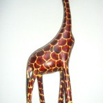 Giraffe 12″ – Jacaranda Wood GIR12