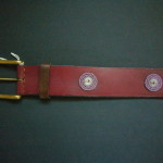 Beaded Masai Leather Belt – Medium MBelt5