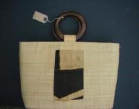 Large Natural Raffia Bag – MBL6