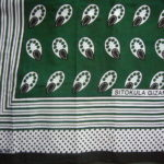 Kanga – Green & Black Traditional Design KG8