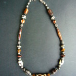 Mara Short Necklace with Tigers Eye – MN4