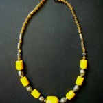 Antique Yellow Amber Necklace – MN15