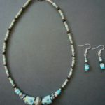 Trade Bead Necklace & Earrings Set – NTB3