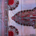 Kanga – Red Traditional Design KG5