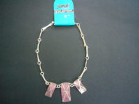 'No Obstacles' Short Silver Necklace from 'Jumali'- SANS1