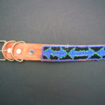 Masai Beaded Pet Collar – Medium/Large PETCOLLM3