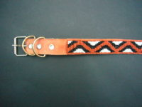 Masai Beaded Pet Collar – Medium/Large PETCOLLM2