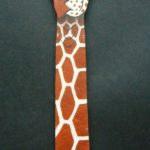 Leather Giraffe Bookmark – BM1