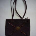 Annabel Thom Small Suede Handbag – ATBAG3