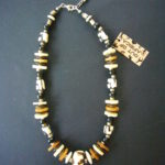 Mara Batik Chunky Short Necklace – MN3