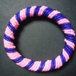 Masai Bead Pink/Blue Bangle – MBG3