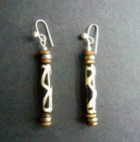 Mara Batik Bead Earrings – EB1