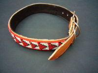 Masai Beaded Pet Collar Medium/Large PETCOLLM6