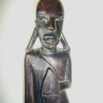 Masai Ebony Warrior Ornament – MTO2