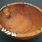 Small Olive Wood Circular Salad/Aperitif Bowl – WB8