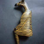 Sitting Zebra Ornament – ZEBSIT