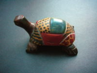 Small Wooden Tortoise (Turtle) Ornament – WT1