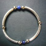 Mara Silver Lapis Agate Bracelet – MB3