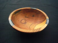 X Small 6″ Olive Wood Nut Bowl WB6