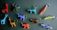 Safari Animal Keyrings – Masai Bead KEYR1