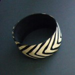 Batik Horn Bangle  – Small Sizes Only BANGBATIK