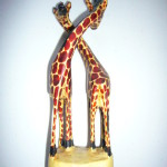 Small Giraffe Pair Ornament GIRPAIR