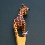 Giraffe Small Salad Servers SSSG