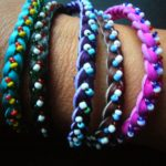 Bracelet – Friendship Leather and Bead BF1
