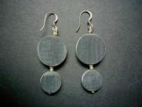 Polished Bone Earrings – EMB3