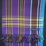 Kikoy – Purple Multi Stripe KK2
