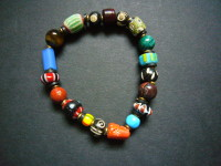 Mara Stretch Trade Bead Bracelet MTBB1