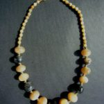 Polished Horn Bead Necklace – MN17