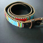 Masai Full Beaded Belt – Med/Lge 36″-39″ MBelt5