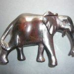 Ebony Elephant Ornament – EBEL1