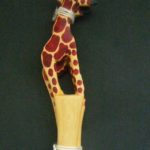 Large Giraffe Salad Servers – LSSG1