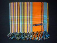 Kikoy – Orange Blue Multi KK16