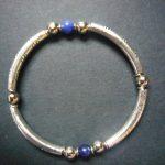 Mara Silver Lapis Lazuli & Trade Bead Bracelet – MB3