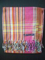 Kikoy – Pink Purple Multi Stripe KK11