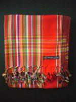 Kikoy – Red Multi Stripe KK17