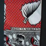 Kanga – Red Traditional Design KG5