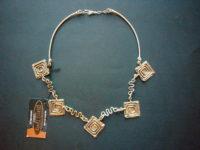 Jumali Silver 'Crazy Times' Necklace – SANS5