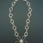 Jumali Silver 'Daisy' Necklace – SANS4